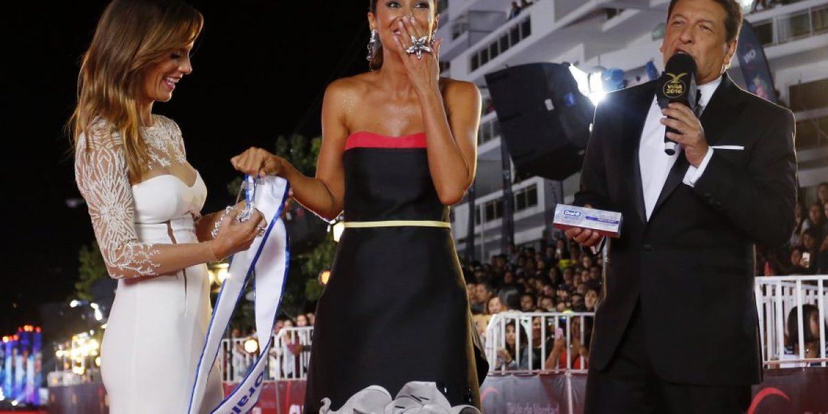 Vanesa Borghi se lleva su primera corona en Viña 2016
