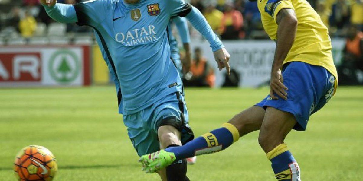 Claudio Bravo participó de nuevo triunfo del Barcelona con el sello de la MSN