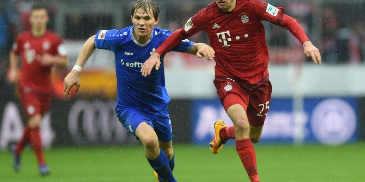 Habilitación de Arturo Vidal permitió que el Bayern Munich siguiera con los triunfos