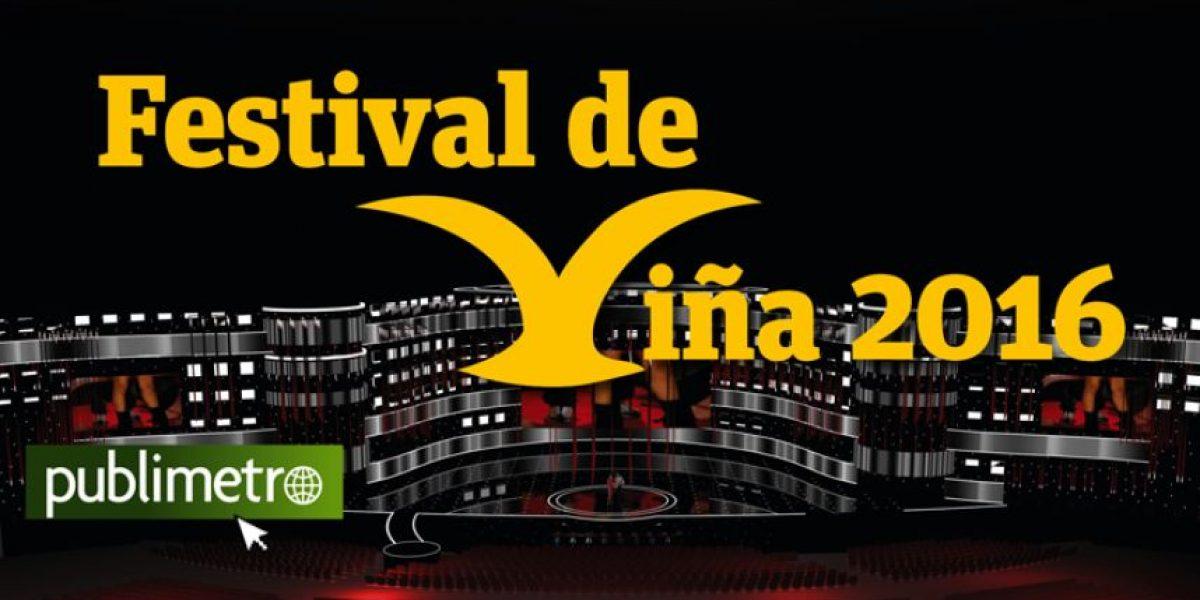 Infografía: programación Festival de Viña 2016