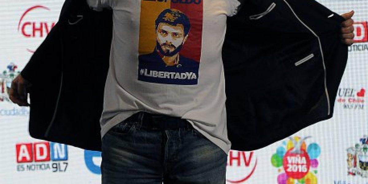 Montaner en Viña: Cantante llamó a poner fin a la