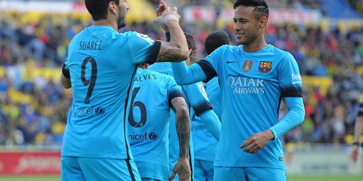 En España comparan los números de Suárez y Alexis: El chileno pierde por goleada