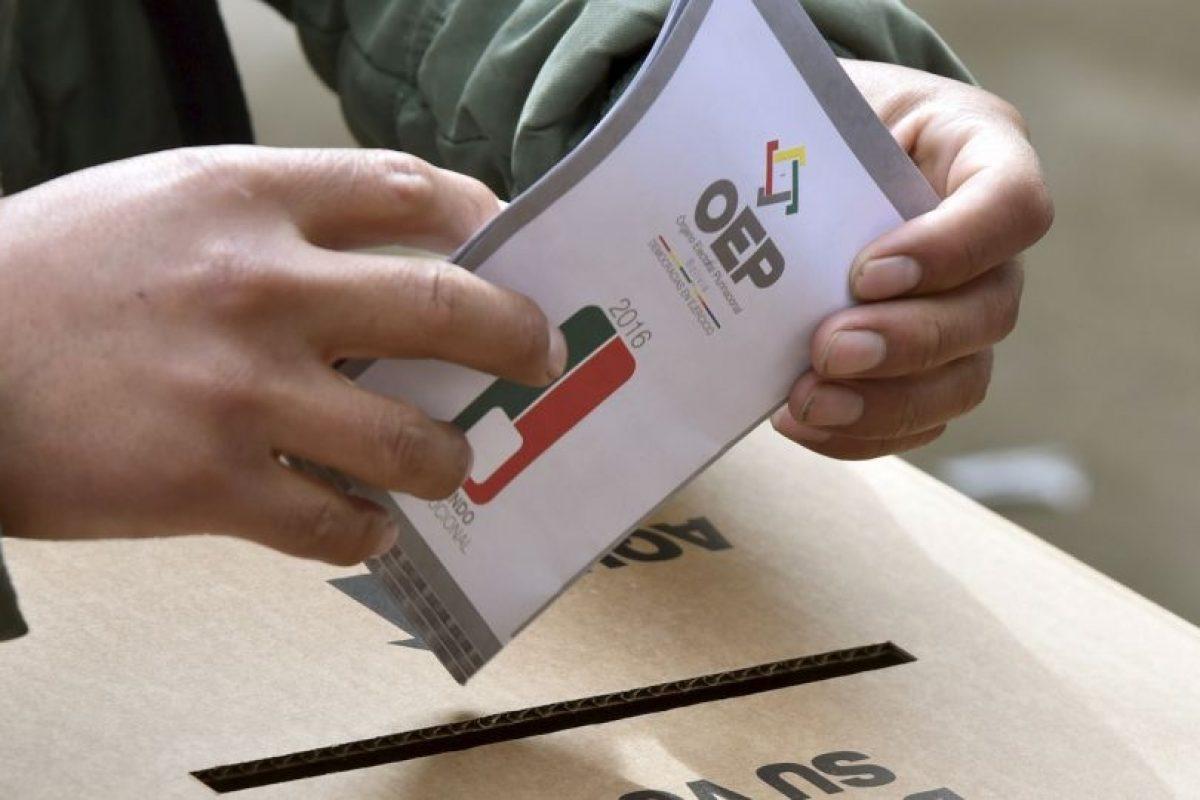 Así se vivió el referéndum en Bolivia Foto:AFP. Imagen Por: