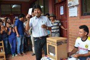 Así se vivió el referéndum en Bolivia. Imagen Por: