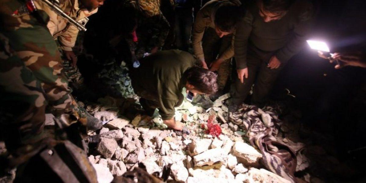 Al menos 184 muertos por atentados en Damasco y Homs