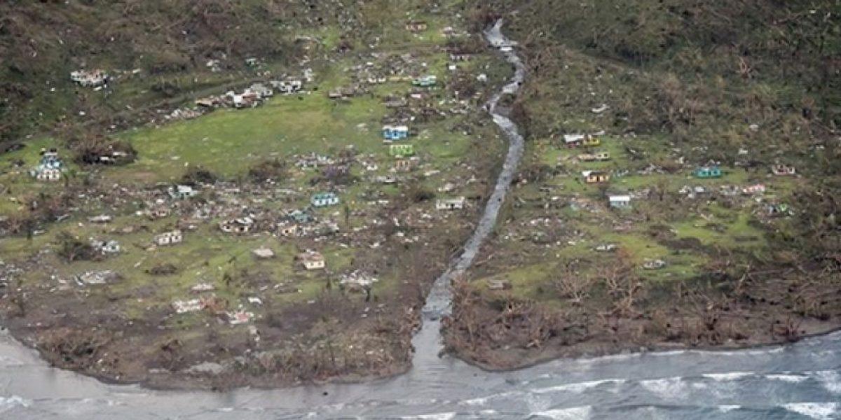 Un monstruoso ciclón tropical devastó parte de Fiyi
