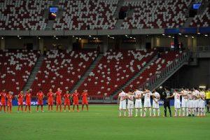 Mientras que los terceros lugares de cada grupo juegan una eliminatoria para obtener el pase a la reclasificación contra el cuarto lugar de Concacaf Foto:Getty Images. Imagen Por: