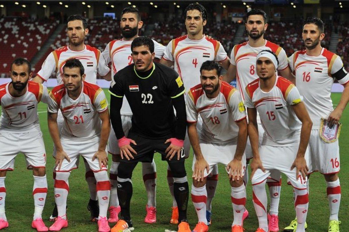 La Selección de Siria se encuentra cerca del Mundial Foto:Getty Images. Imagen Por: