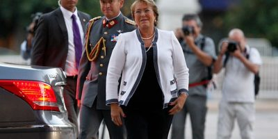 Presidenta Bachelet regresa a La Moneda: