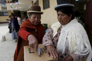 Así se vivió el referéndum en Bolivia Foto:AP. Imagen Por: