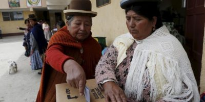 Bolivia: Resultados parciales dan ventaja al NO a la reelección de Evo Morales
