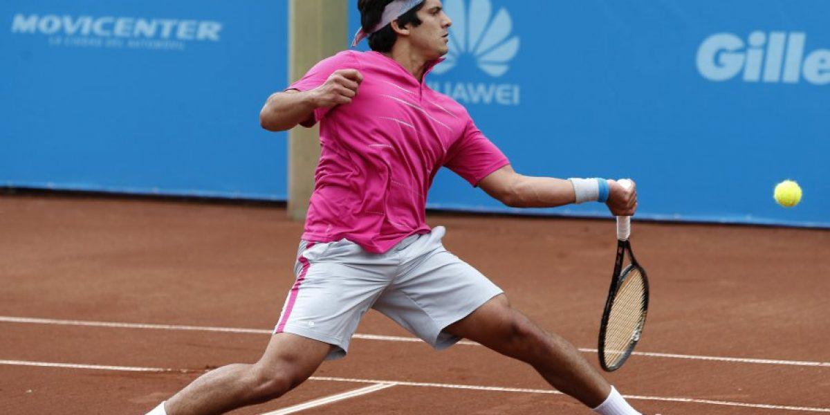 Las principales raquetas chilenas tuvieron una leve alza en el ranking ATP