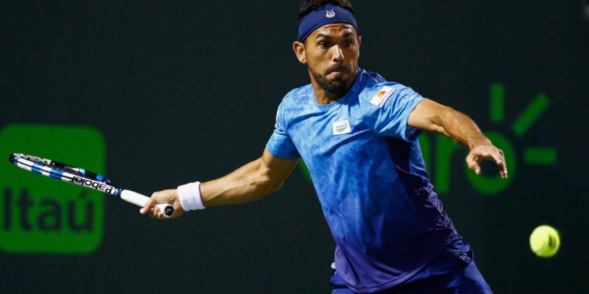 ¿Alivio para Chile? Víctor Estrella opta por no jugar la serie de Copa Davis