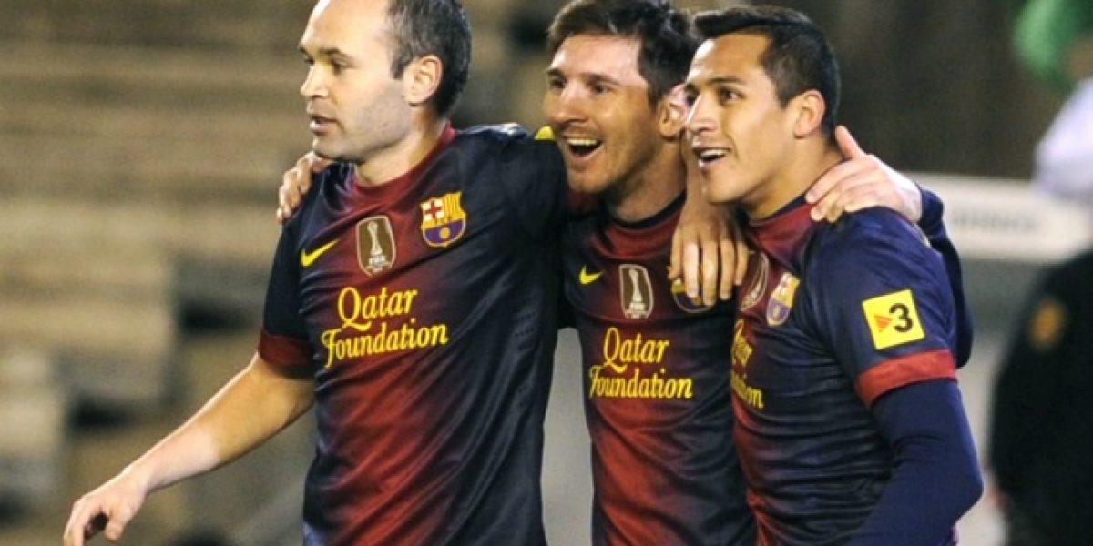 Iniesta advierte sobre Alexis: