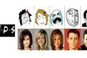 El antes y después de los amigos Foto:Internet. Imagen Por: