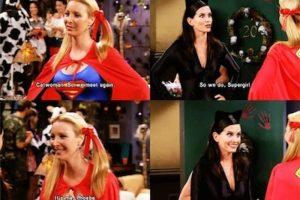 Phoebe siempre brindó los momentos más divertidos Foto:Internet. Imagen Por: