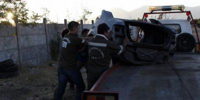 Carabineros desbarató desarmaduría de vehículos robados en Rancagua