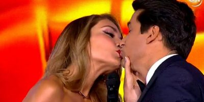 Un beso y famosos: así la tribuna tuitera vivió el inicio de Viña 2016