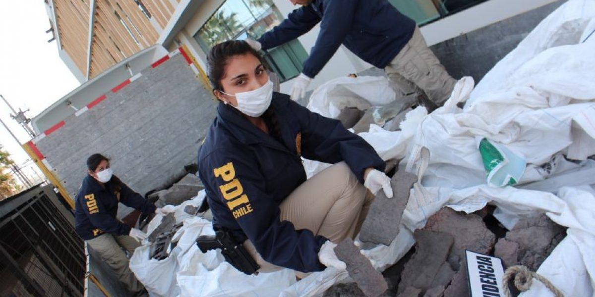 Arica: recuperan ocho toneladas de cobre  y subproducto robados a Codelco