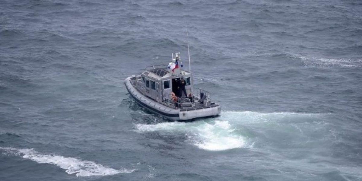 Armada de Chile retomó búsqueda de niña arrastrada por las olas en Constitución