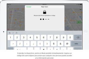 En el dispositivo mostrará un número de contacto con mensaje personalizado por si alguien lo encuentra y que les llamen. Foto:Apple. Imagen Por: