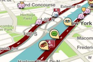A partir de la versión 3.9.4 hay una barra de tráfico, la cual les puede decir el tiempo que estarán en un embotellamiento y su progreso en tiempo real. Foto:Waze. Imagen Por: