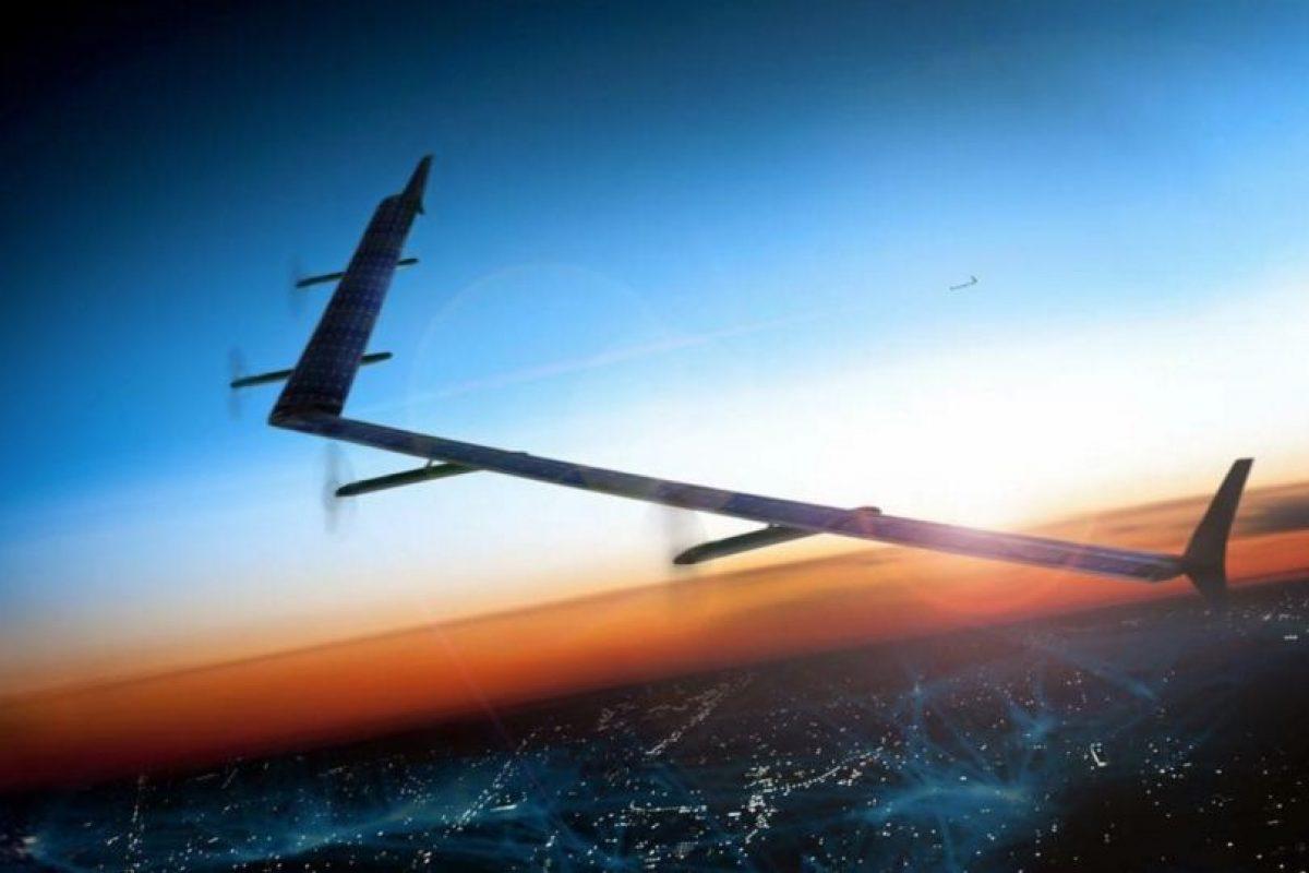 """""""Aquila"""", la aeronave que quiere conectar al mundo. Foto:Vía facebook.com/zuck. Imagen Por:"""