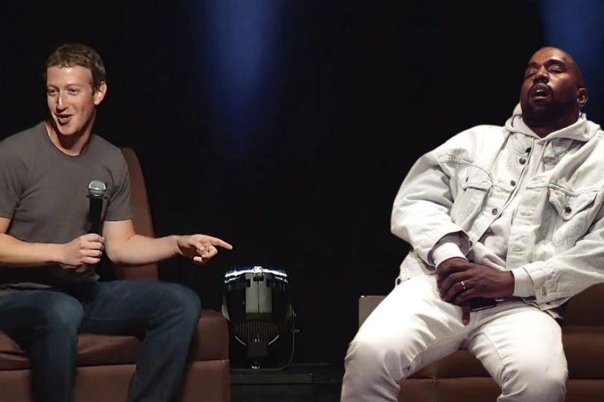 """Y de su petición a Mark Zuckerberg de invertir """"mil millones de dólares en ideas de Kanye West"""". Foto:Imgur / Reddit. Imagen Por:"""