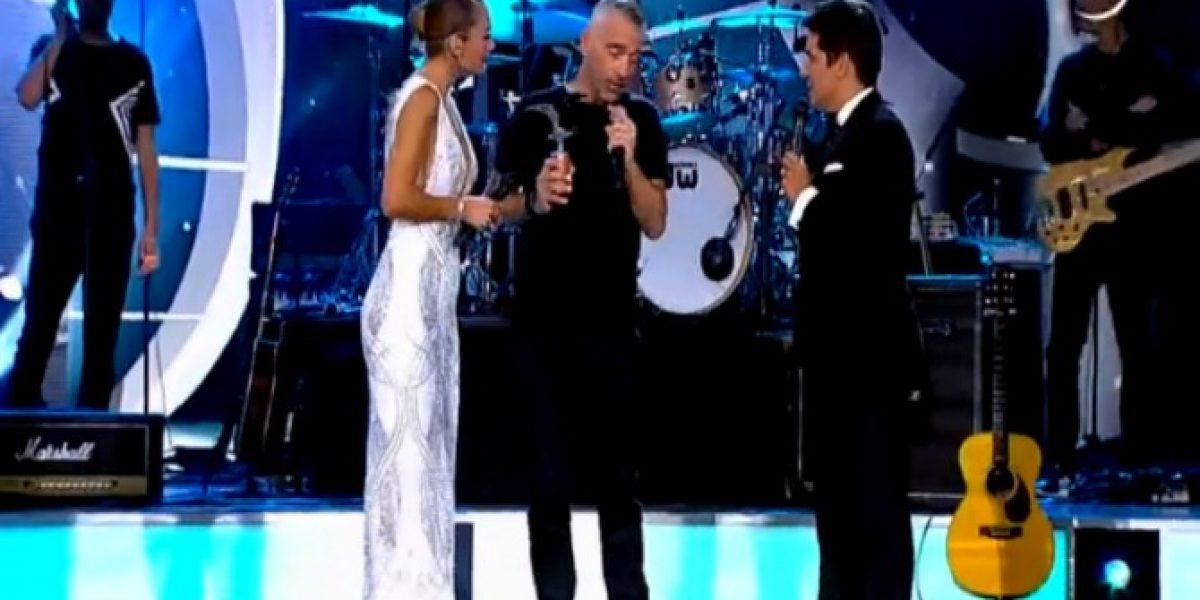 ¡Gaviota de plata para Eros Ramazzotti!