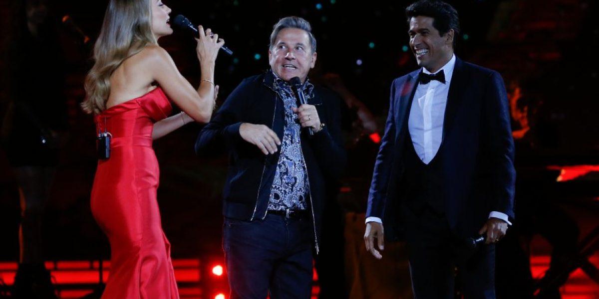 Ricardo Montaner enamoró de madrugada al público de la Quinta Vergara