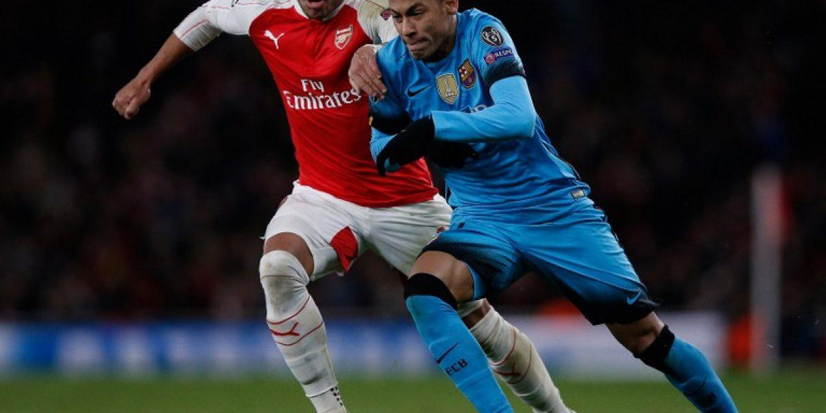Lionel Messi mató al Arsenal de Alexis y acaricia los cuartos de Champions