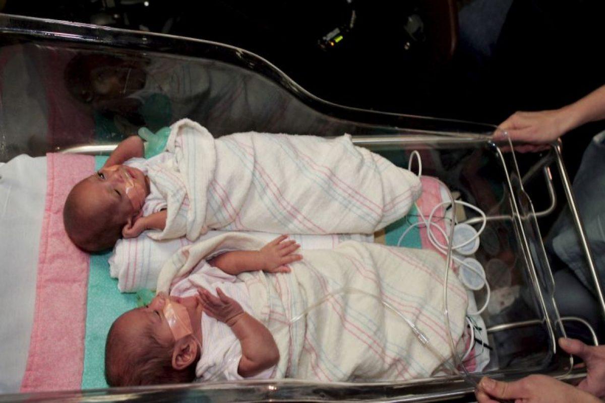 """Los mellizos nacen de óvulos y espermatozoides diferentes, por lo que se puede decir que son hermanos nacidos al """"mismo"""" tiempo. Foto:Getty Images. Imagen Por:"""