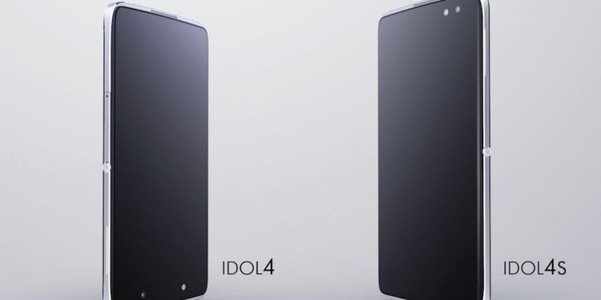 Alcatel presenta sus nuevos smartphones Idol 4 y el Idol 4S