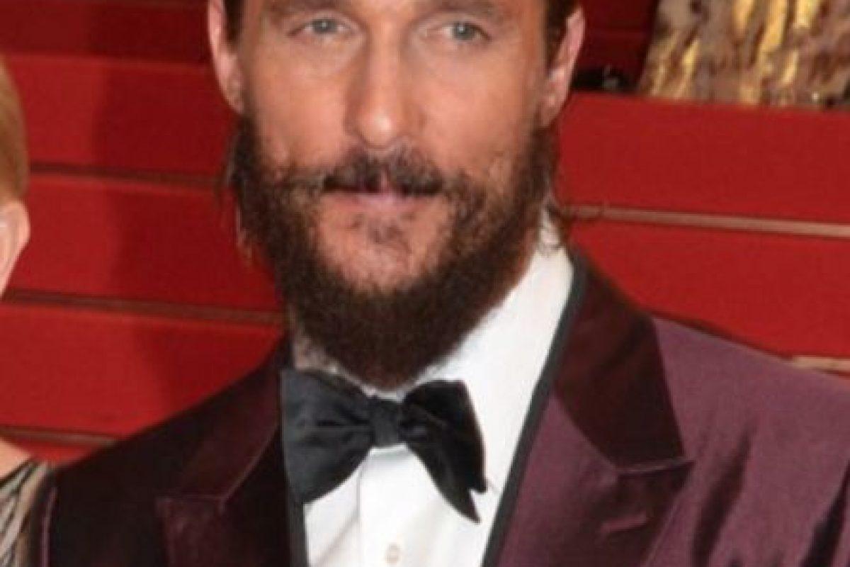 9. Matthew McConaughey no usa desodorante. Foto:Getty Images. Imagen Por: