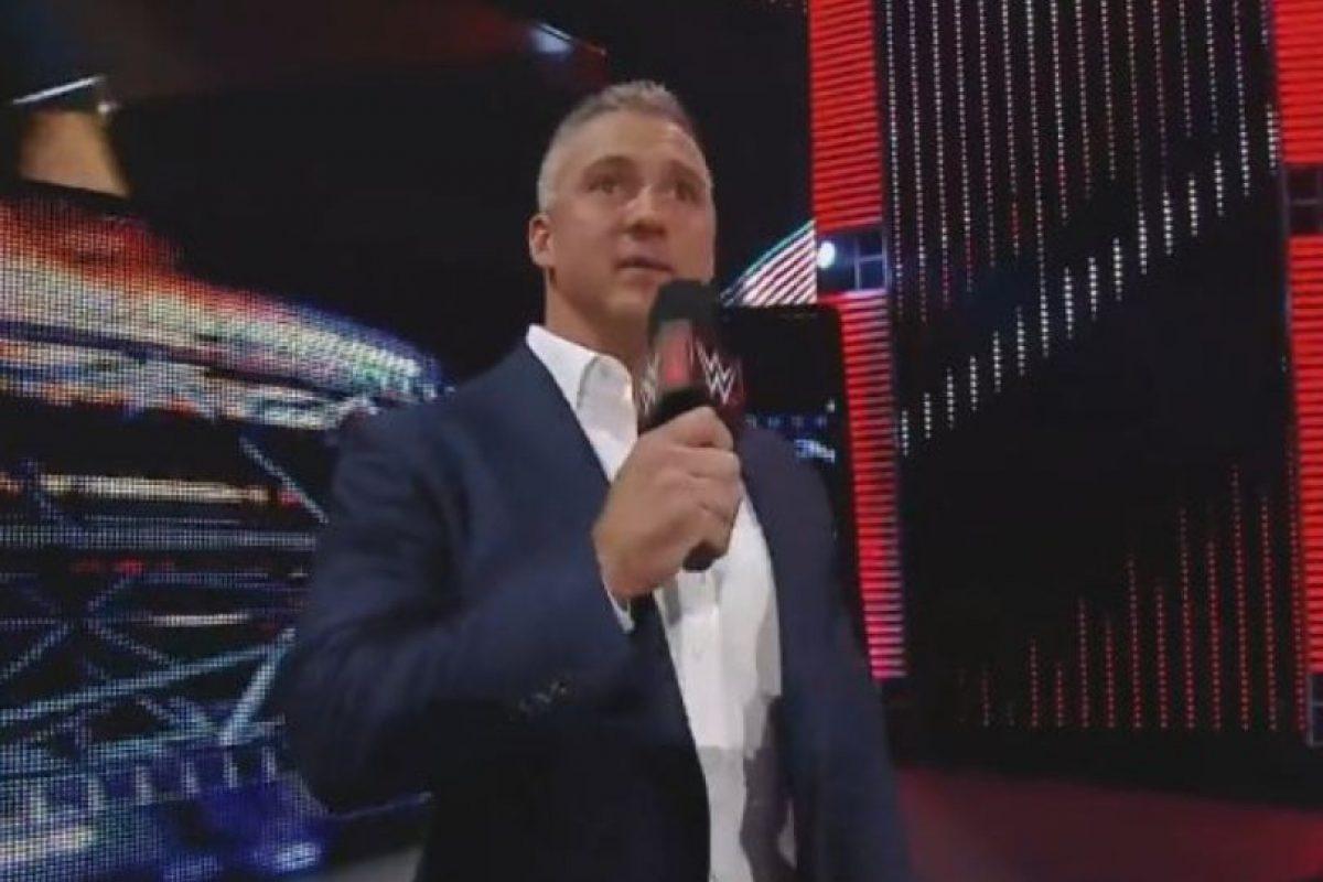 Shane tiene 46 años Foto:WWE. Imagen Por: