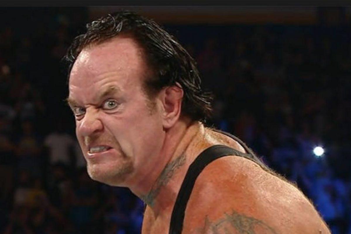 Mientras que Undertaker ya cuenta con 50 años de edad. Foto:WWE. Imagen Por: