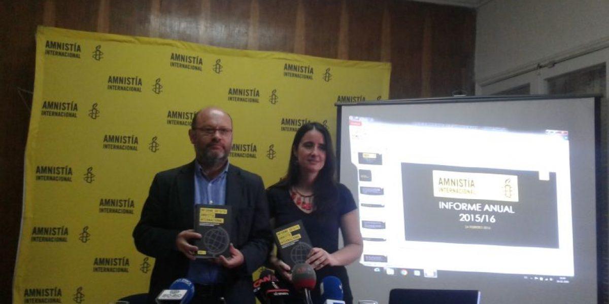 Amnistía Internacional alerta del asalto a las libertades en Chile y en el mundo