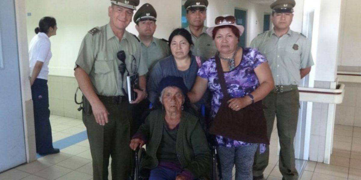 Carabineros encuentra a comunera mapuche desaparecida en Calbún