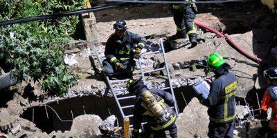 En estado grave continúa una de las víctimas de explosión de edificio en Las Condes