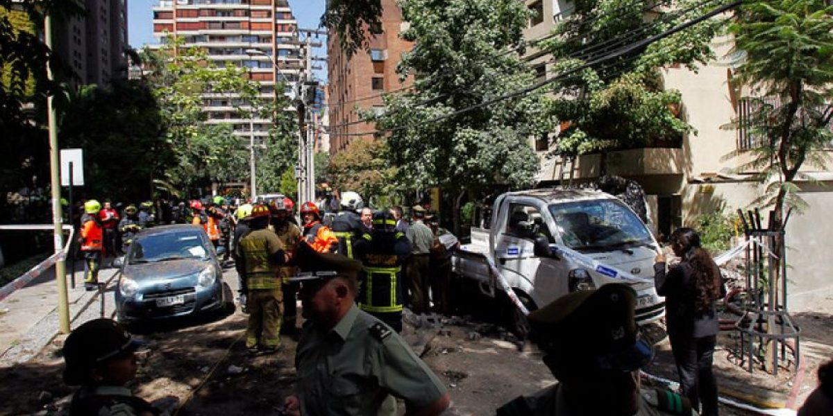 Orrego descartó daño estructural en edificio tras explosión en Las Condes