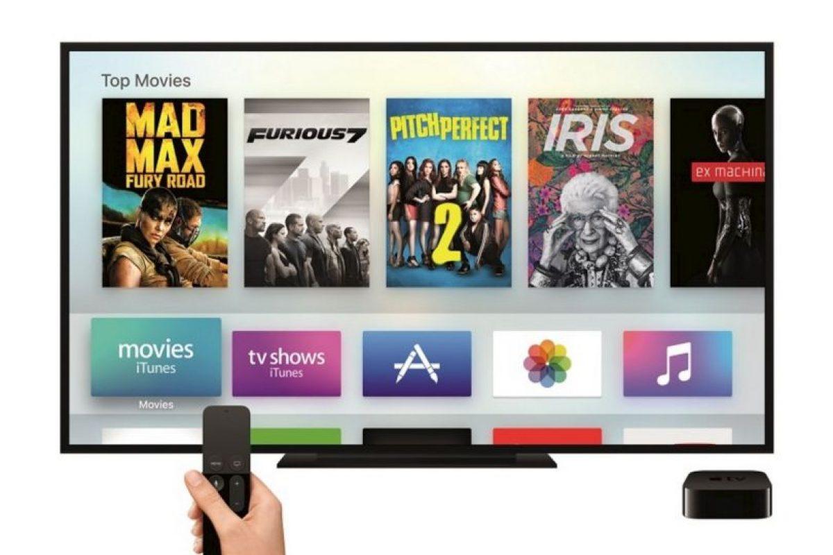 Así luce el nuevo Apple TV. Foto:Apple. Imagen Por: