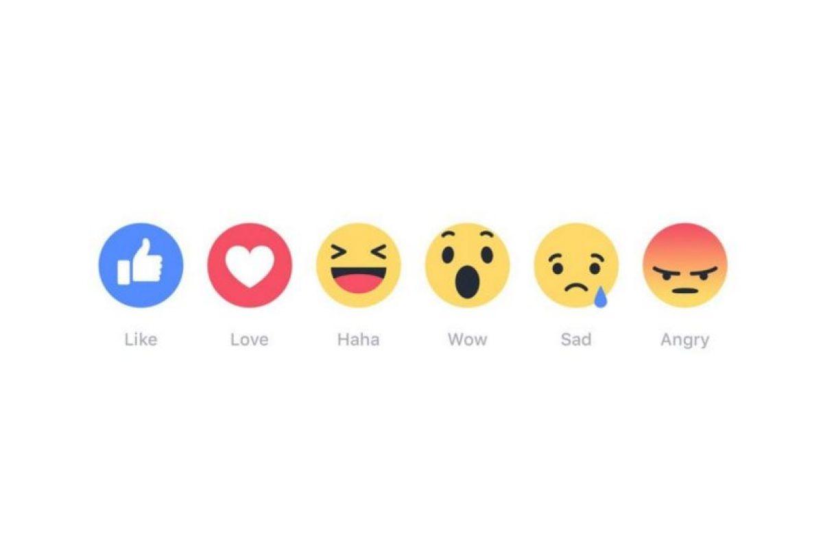 Estas son las nuevas reacciones en Facebook. Foto:Facebook. Imagen Por: