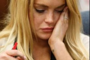 9- Lindsay Lohan. Foto:Getty Images. Imagen Por: