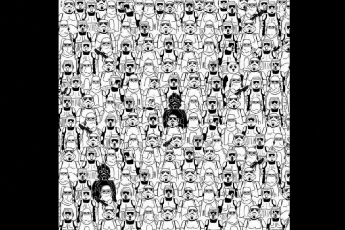 ¿Ya vieron al panda? Foto:Vía Twitter.com. Imagen Por: