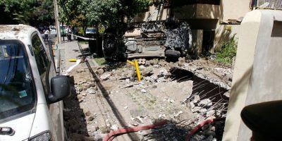 Tres heridos graves tras violenta explosión de gas en subterráneo de edificio en Las Condes