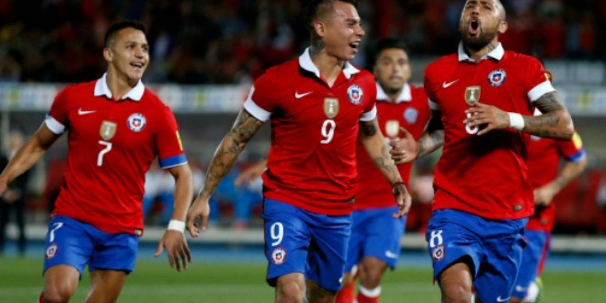 Chile es la cuarta selección más cotizada de la Copa América Centenario