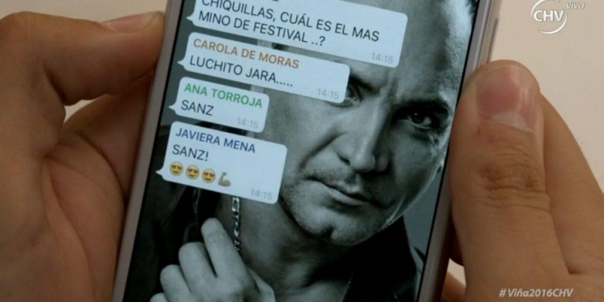 Con hilarante video Alejandro Sanz y Luis Jara iniciaron tercera noche de Viña 2016