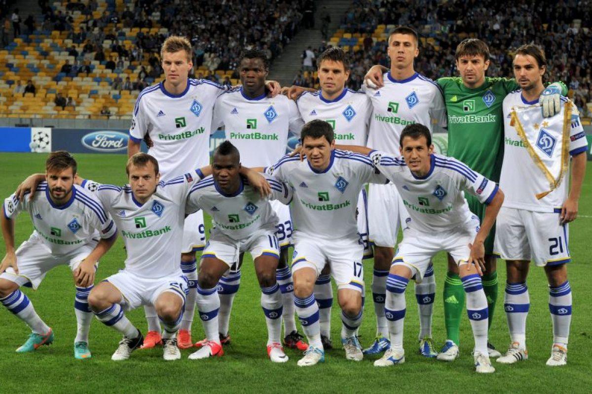 Visitan al Dinamo de Kiev Foto:Getty. Imagen Por: