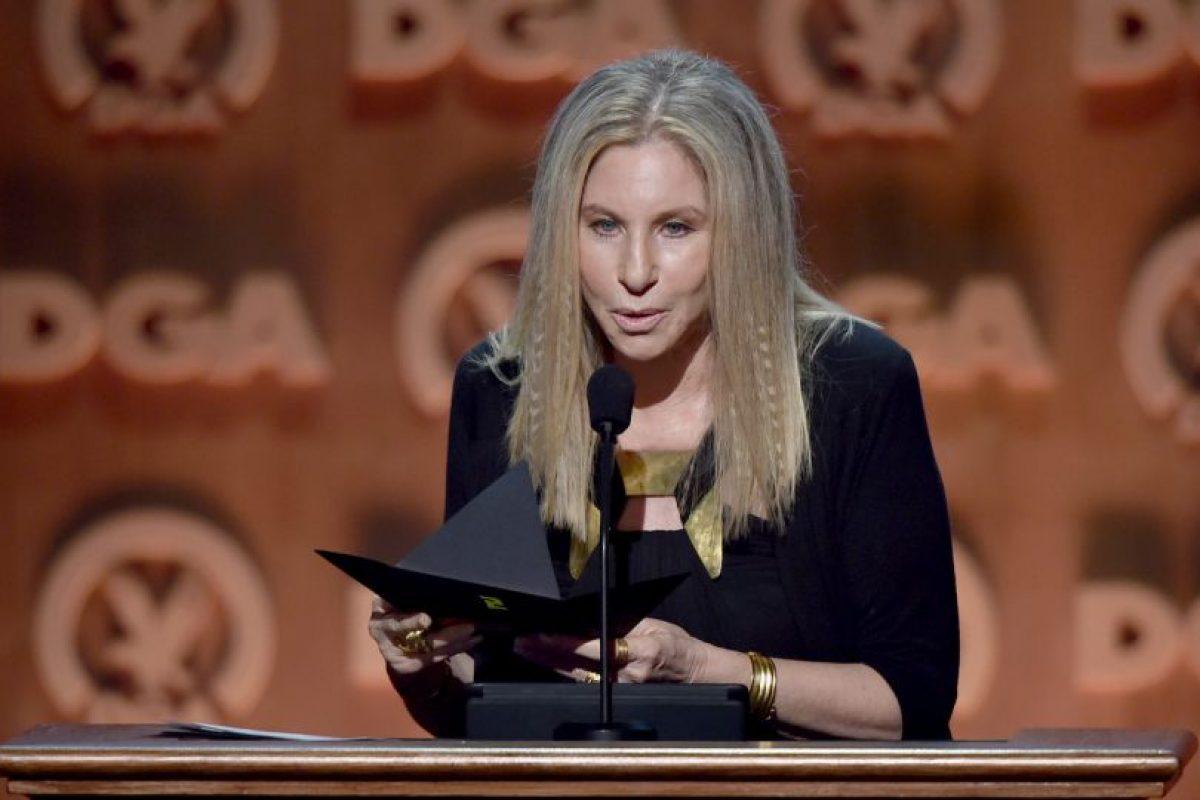 Barbra Streisand. Es otra de las actrices que cree en la causa de Clinton y que no dudará en apoyarla. Foto:Getty Images. Imagen Por: