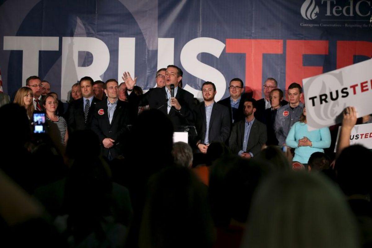 El 22 de marzo anunció su campaña por la candidatura republicana a la Casa Blanca. Foto:Getty Images. Imagen Por: